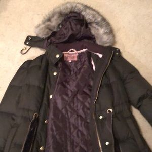 Juicy couture quilted parka size M